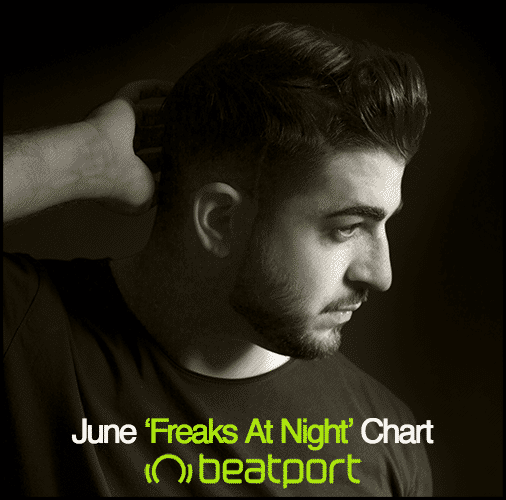 JUNE 'FREAKS AT NIGHT' CHART juanito