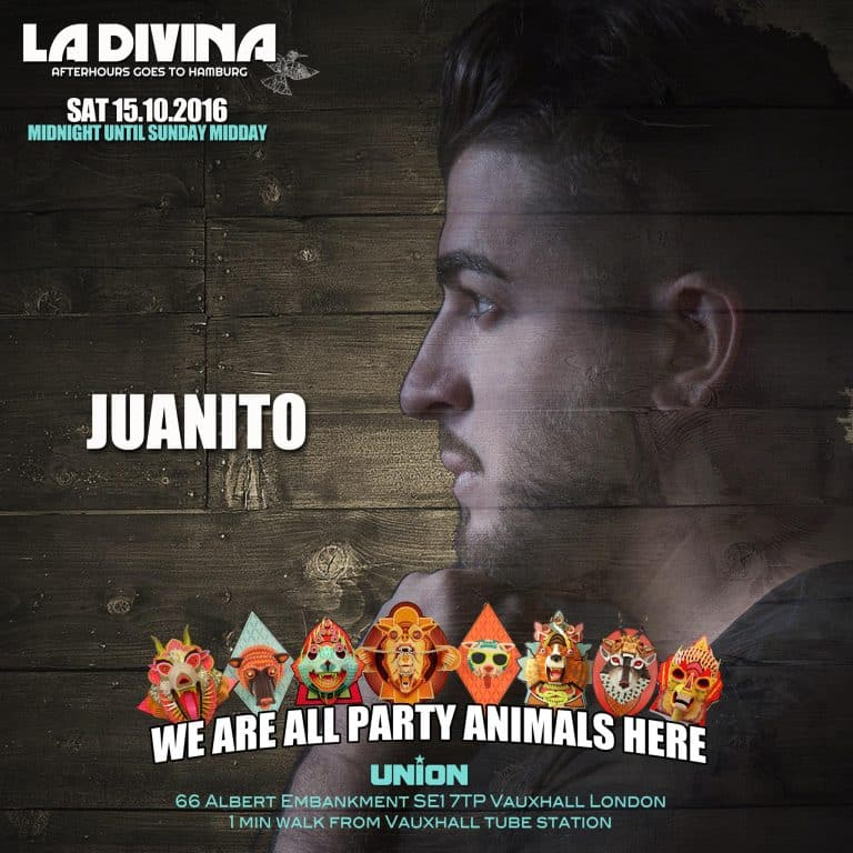 Juanito Divina London