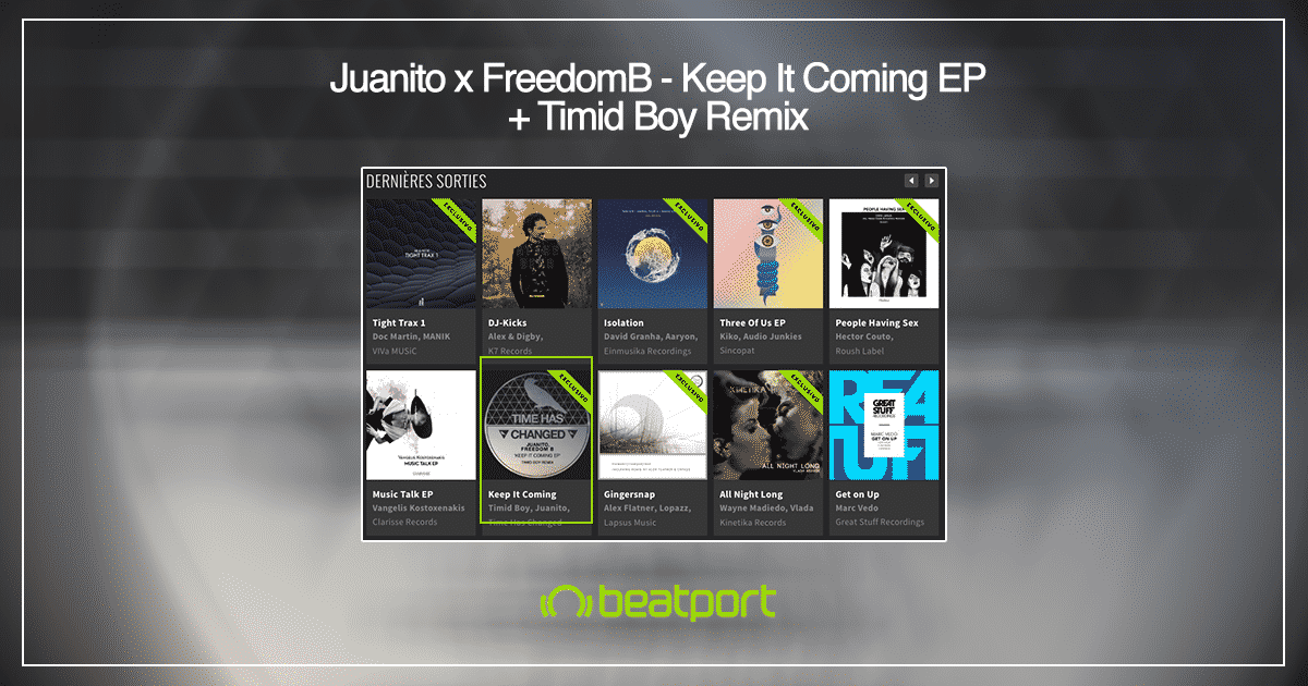 Juanito FreedomB Keep It coming Timid Boy Remix