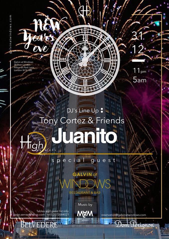 HighQ Sessions London Juanito Tony Cortez