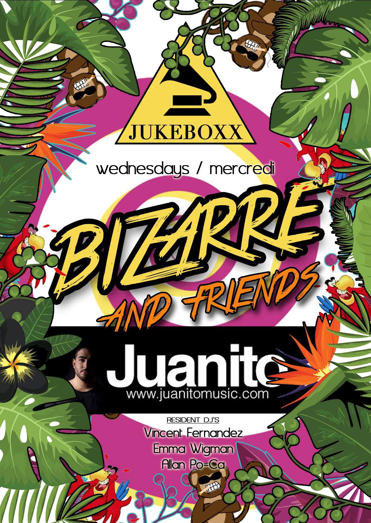 Juanito Bizarre Jukeboxx Les 2 Alpes