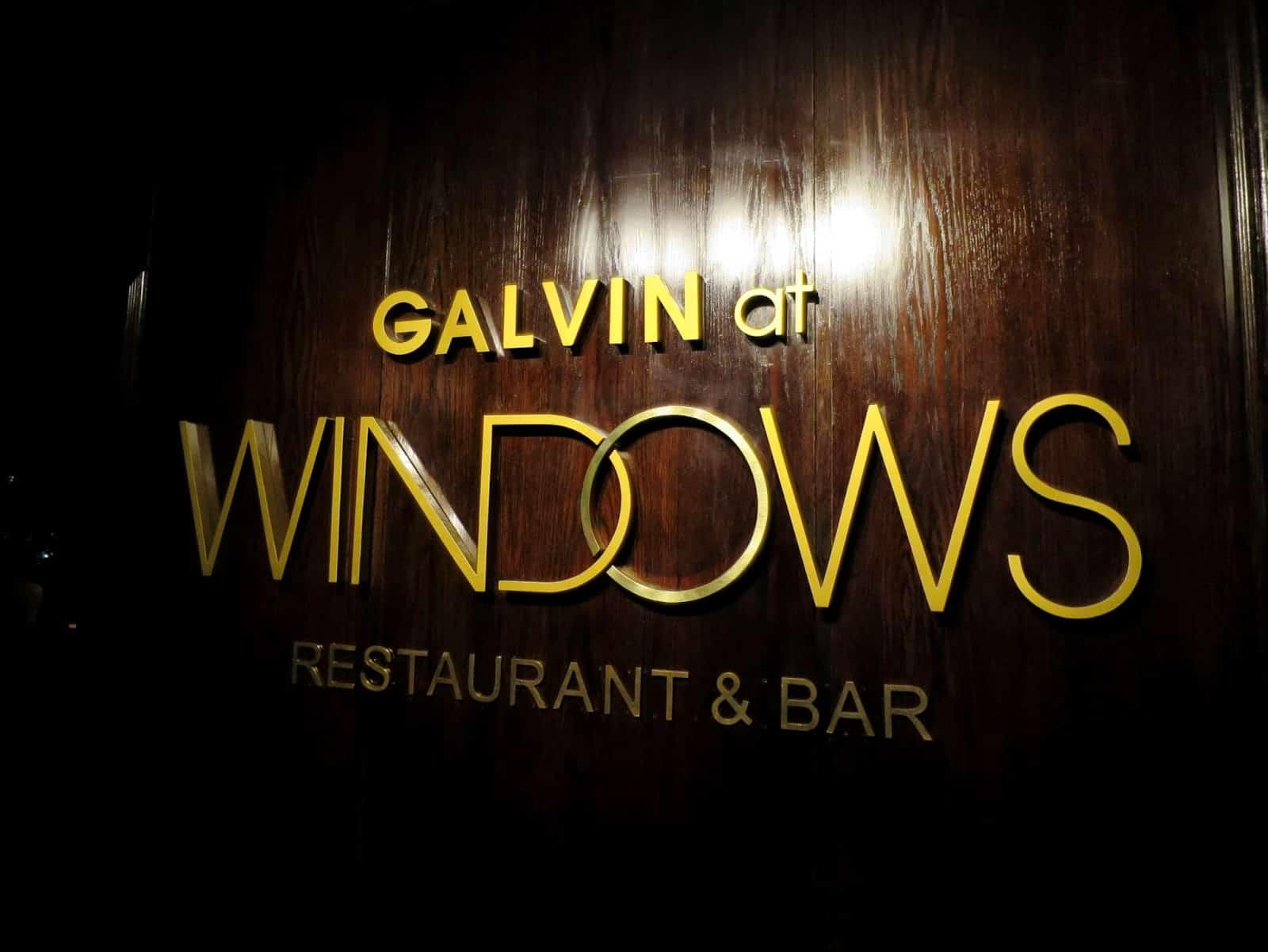 Galvin at windows juanito