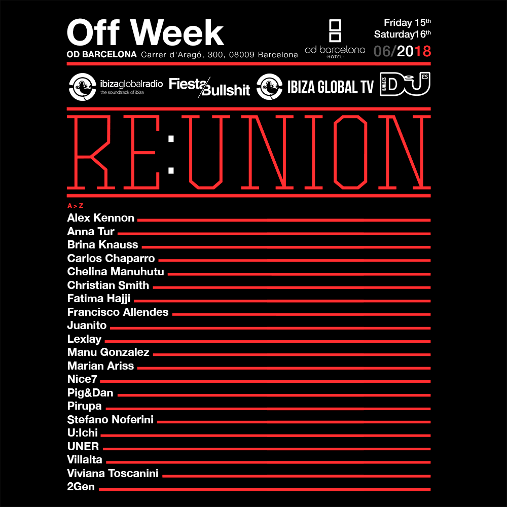 Re:Union OFFWeek 2018