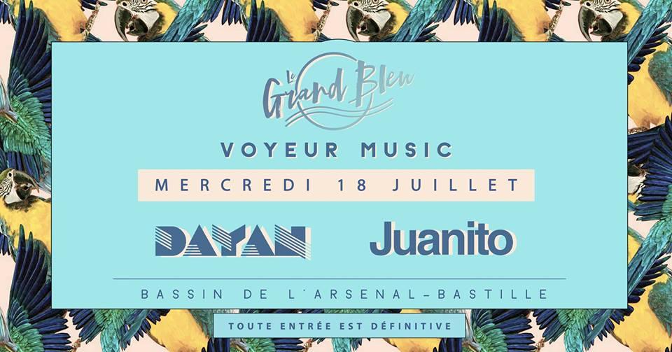 Voyeur Juanito Dayan Grand Bleu Paris