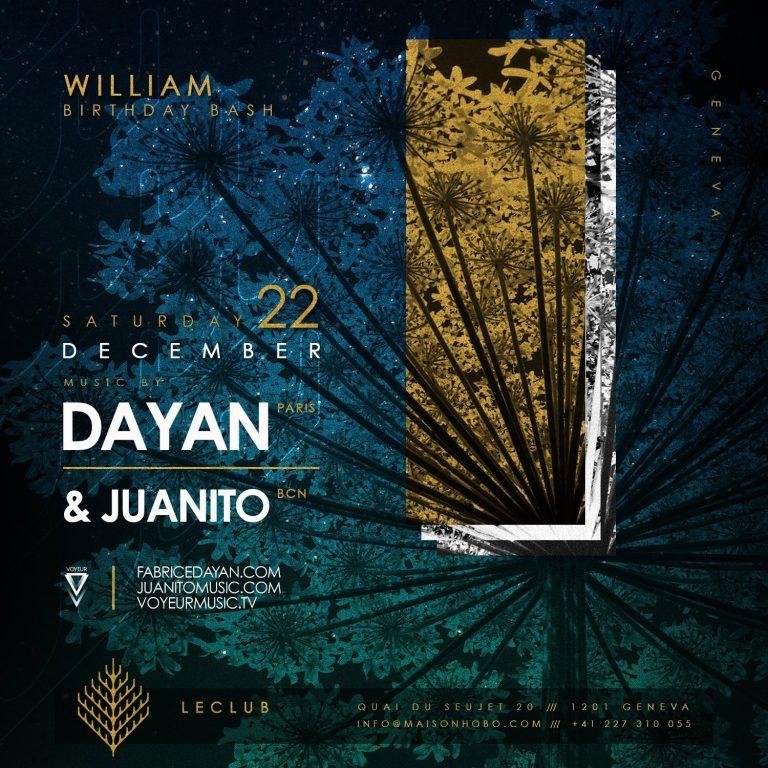 LECLUB Geneva Juanito Dayan