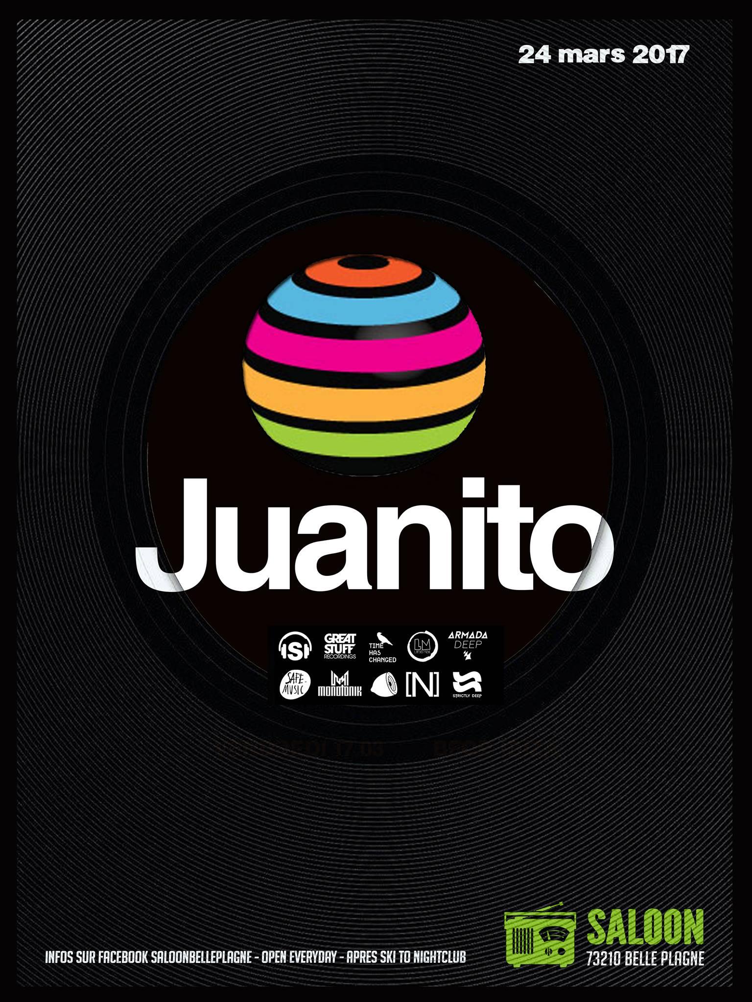 Juanito – Le Saloon – La Plagne