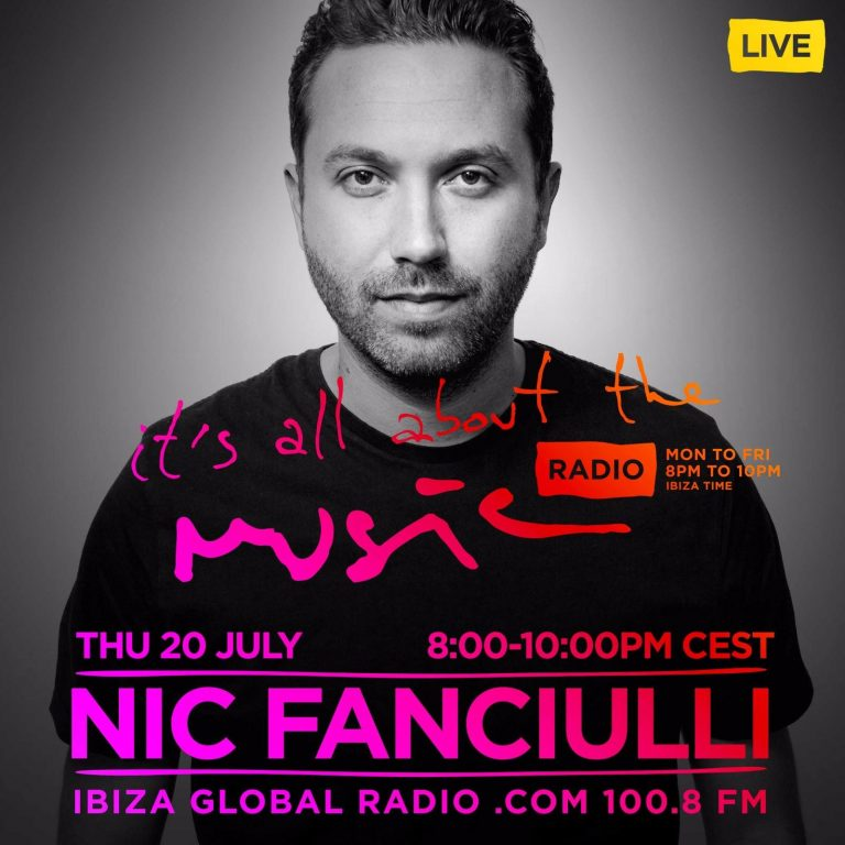 Nic Fanciulli Juanito Music On Ibiza Global Radio It's All About The Music