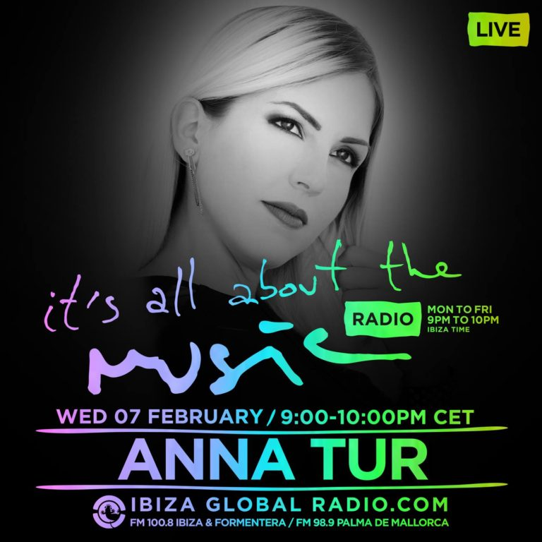 Anna Tur Music On Juanito Ibiza Global Radio