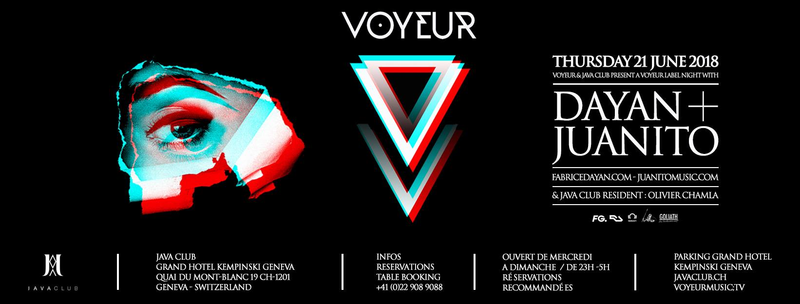 Voyeur Music Showcase Geneva