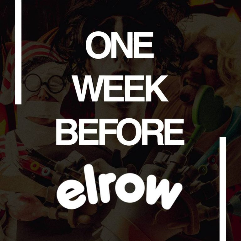 elrow, one week !
