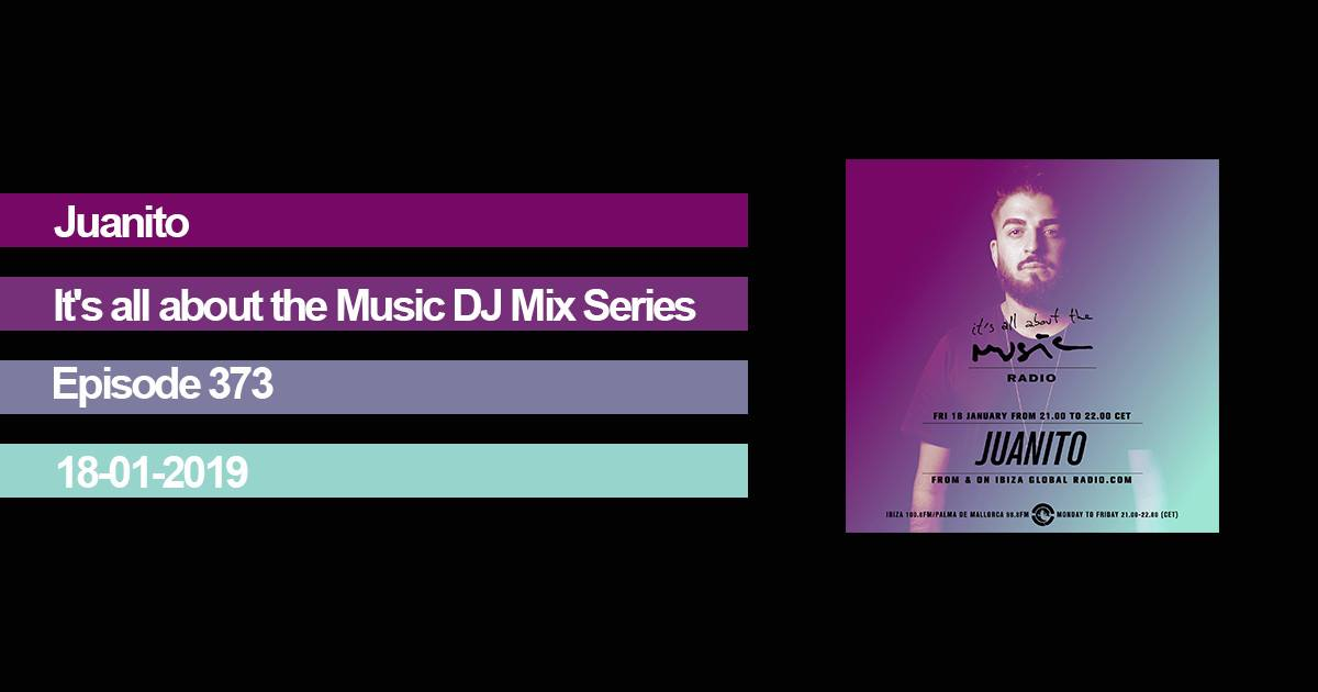 It's all about the music Juanito Ibiza